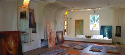 Expositie schilderijen van Marcella Iedema in de Ruimte, Amstelveen